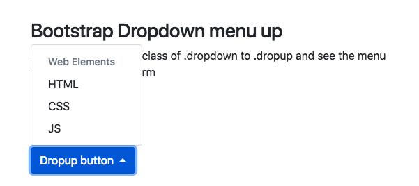 Bootstrap 4 Dropdown | left | right | Menu | Submenu | Search